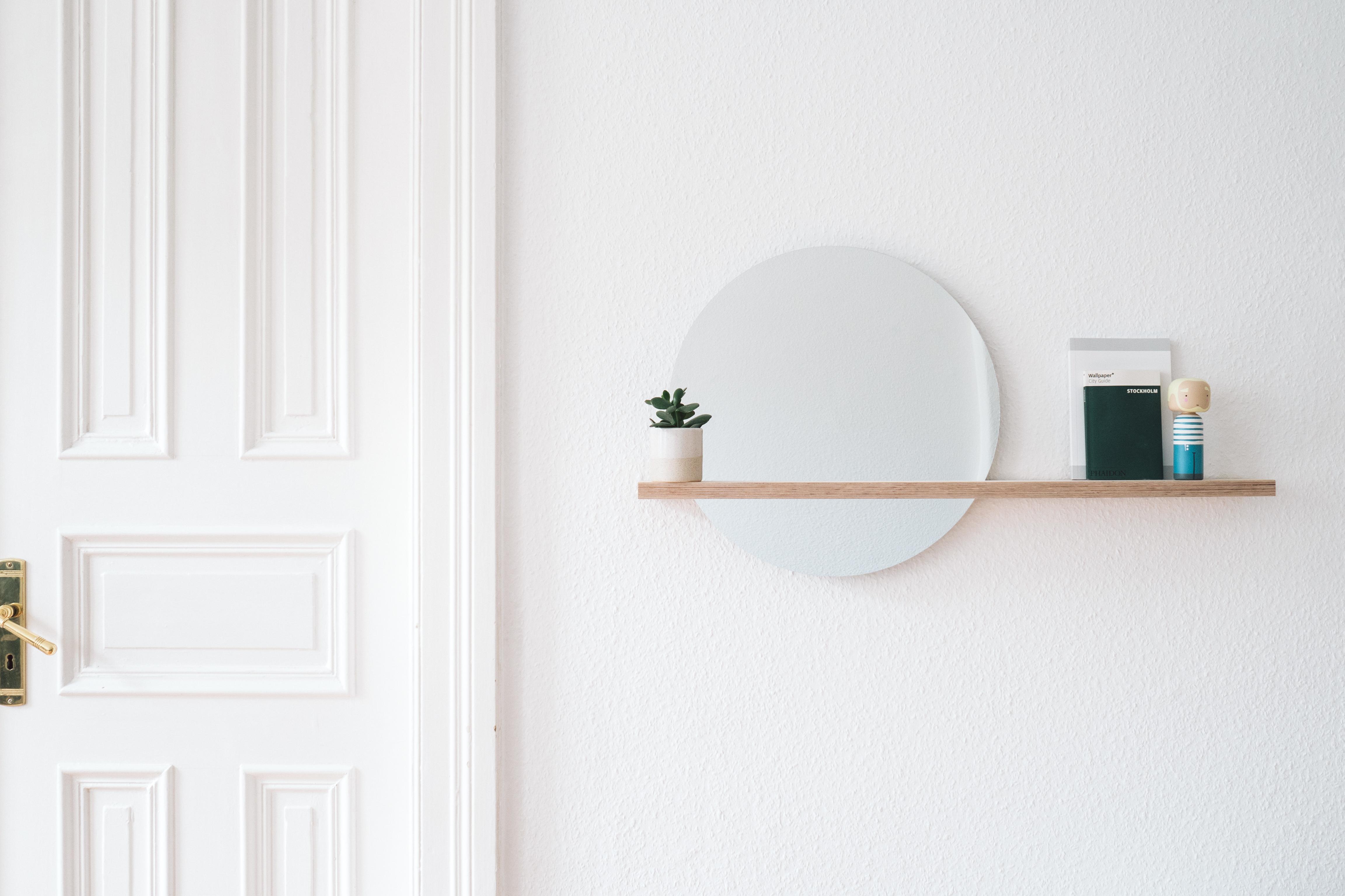 diy spiegel mit ablage | paulsvera