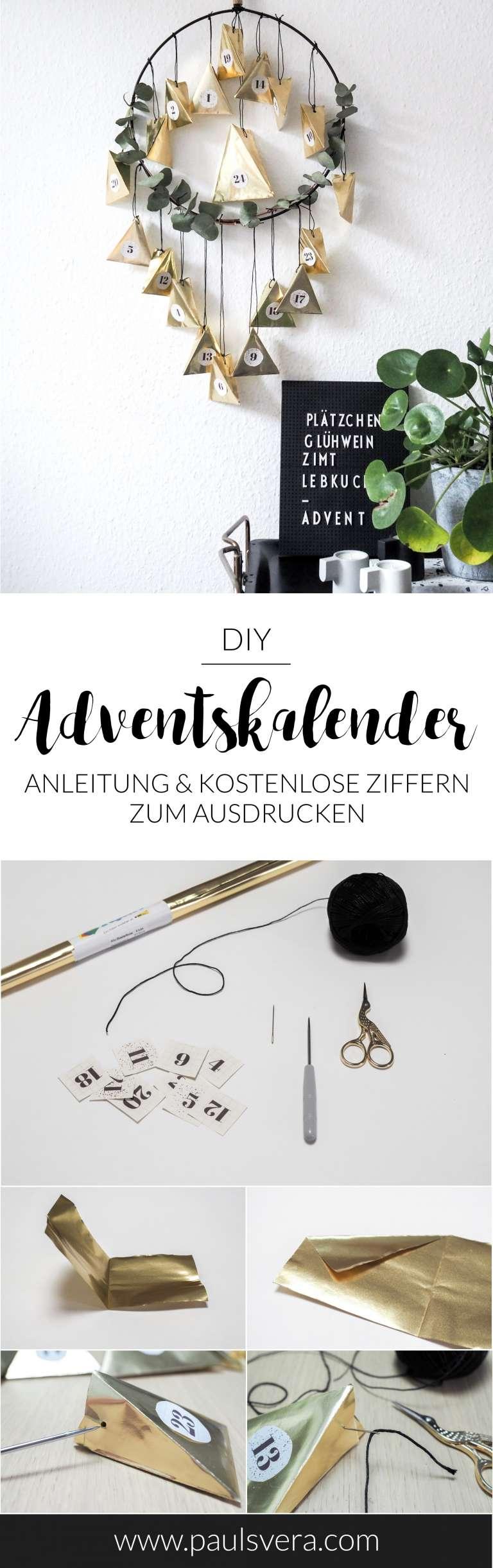 Anleitung-DIY-Adventskalender-selber-machen-aus-Papier-gold-besonders-Weihnachtskalender-basteln-paulsvera