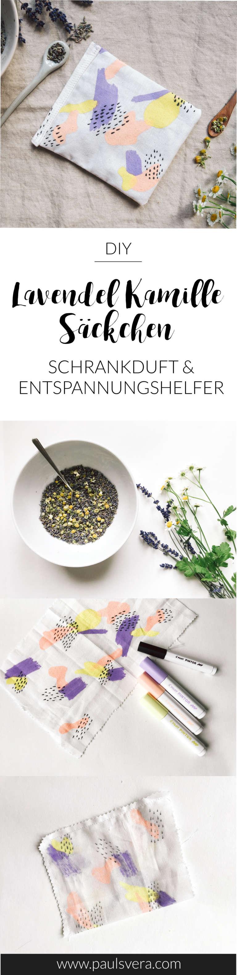 Anleitung Lavendel Kamillen Kissen Schrankduft Entspannungskissen Selber Machen Geschenkidee Selbstgemacht Paulsvera