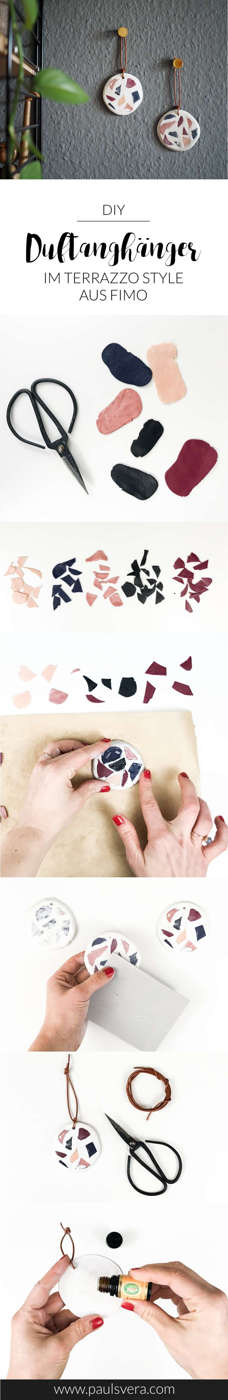 Raumduft-selber-machen-selbstgemachte-Duftanhänger-moderne-Ideen-mit-FIMO-paulsvera