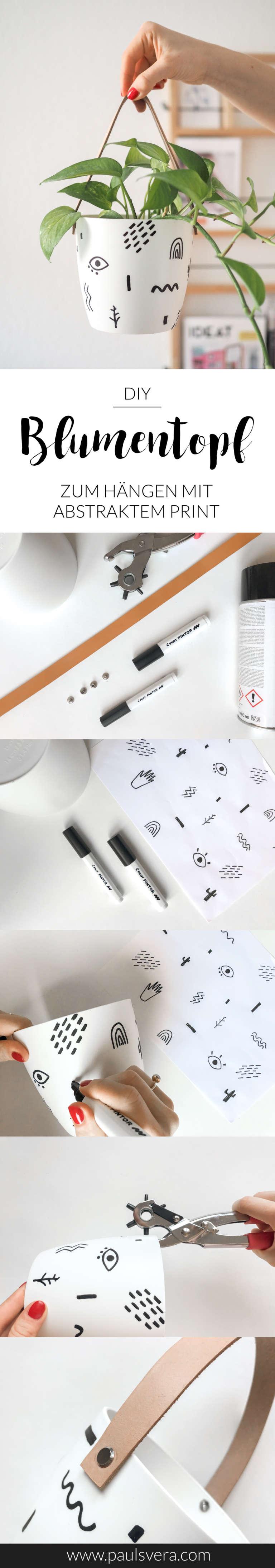 DIY-Blumentopf-gestalten-bemalen-Blumentopf-hängend-Hängeblumentopf-basteln-abstraktes-Muster-Pilot-pintor-Anleitung-zum-selber-machen-paulsvera