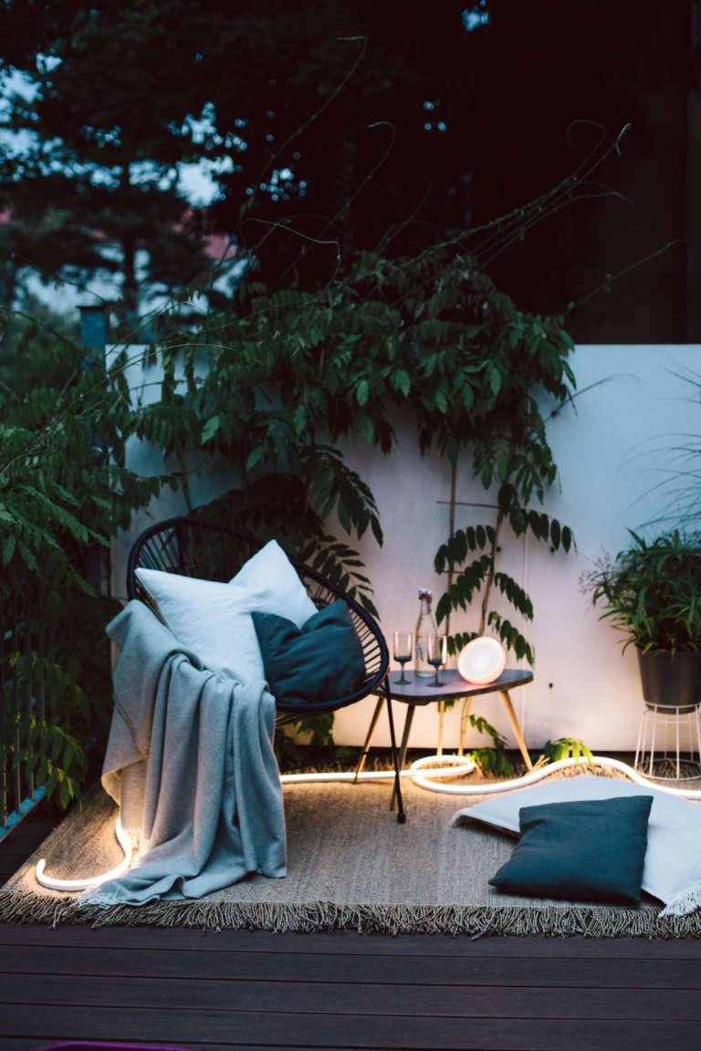 Aussenbeleuchtung Smart Home Philips Hue Paulsvera 32