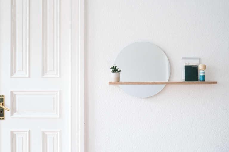 Bosch Diy Spiegel Mit Ablage Wandregal Selber Bauen Schwebendes Regalbrett Selber Machen Holz Runder Spiegel Paulsvera 40