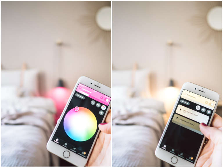 Collage Philips Hue App 2