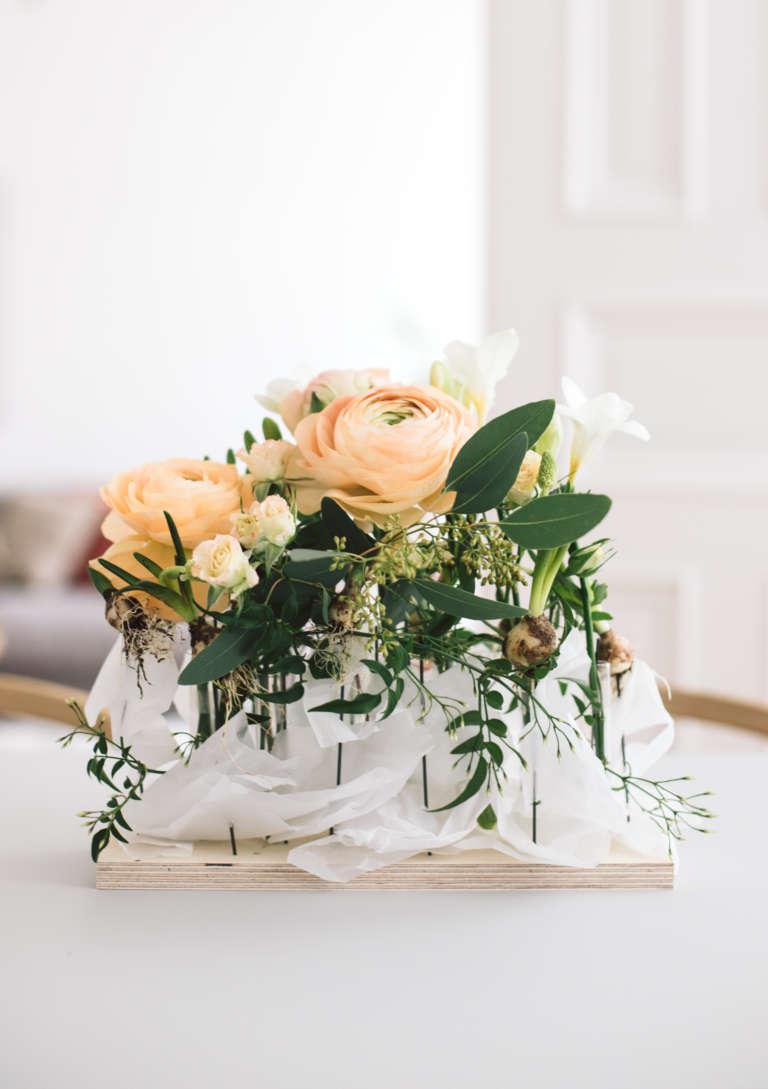 Diy Blumengesteck Tisch Fruhling Paulsvera 2 Kopie
