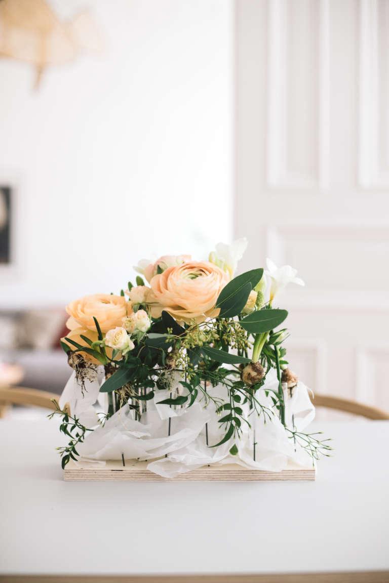 Diy Blumengesteck Tisch Fruhling Paulsvera 2
