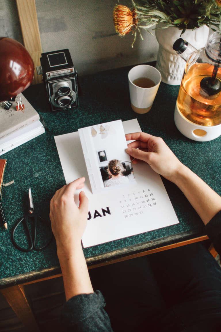 Diy Fotokalender Freebie Kalender 2019 Zum Ausdrucken Kostenlos Hp Tango Schoener Drucker Paulsvera 28