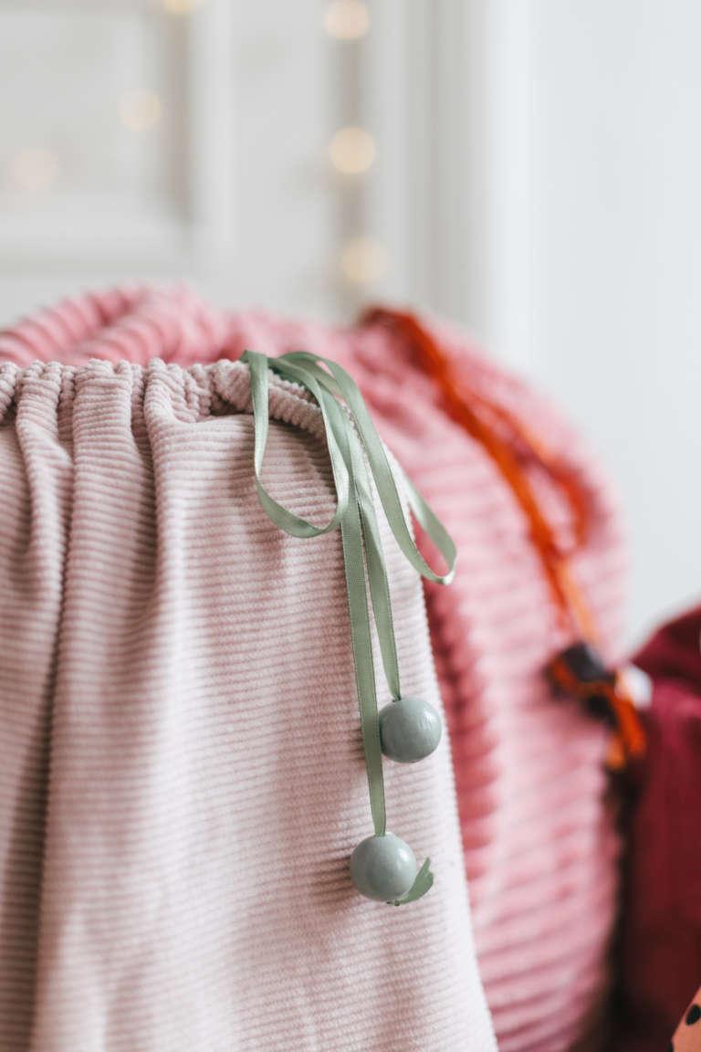 DIY Geschenkbeutel nahen nachhaltig verpacken Geschenkpapier Alternative paulsvera 8