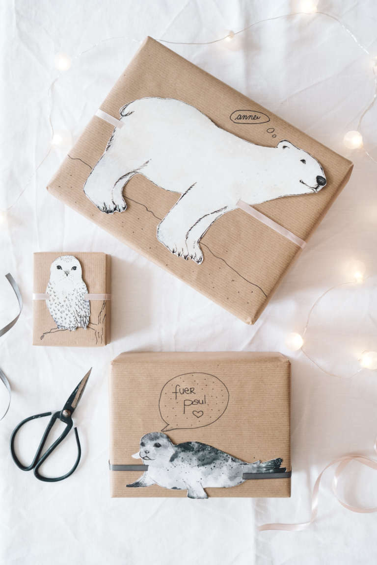 Diy Ideen Geschenke Verpacken Niedlich Suss Kindergeschenke Tiere Paulsvera 2