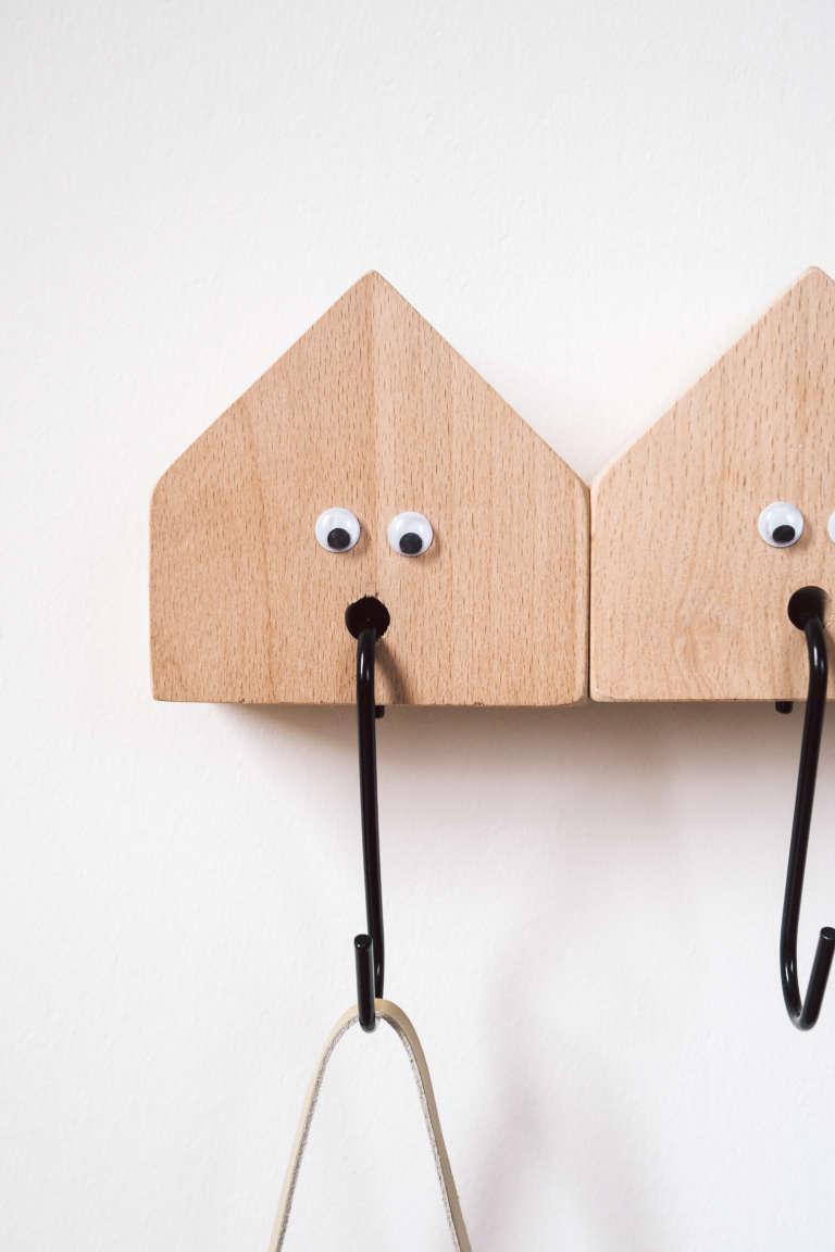 Diy Kindergarderobe Selber Machen Holzhauschen Deko Holzhaus Niedlich Suss Kreative Kinderzimmer Ideen Paulsvera 10