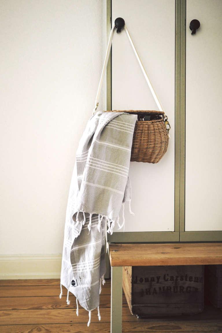 Diy Lederriemen Tasche Accessoires Selber Machen Yoga Tasche Badetasche Elmas Home Paulsvera 1