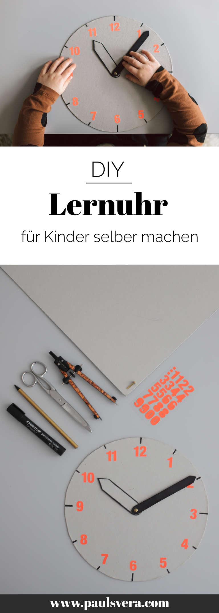 Diy Lernuhr