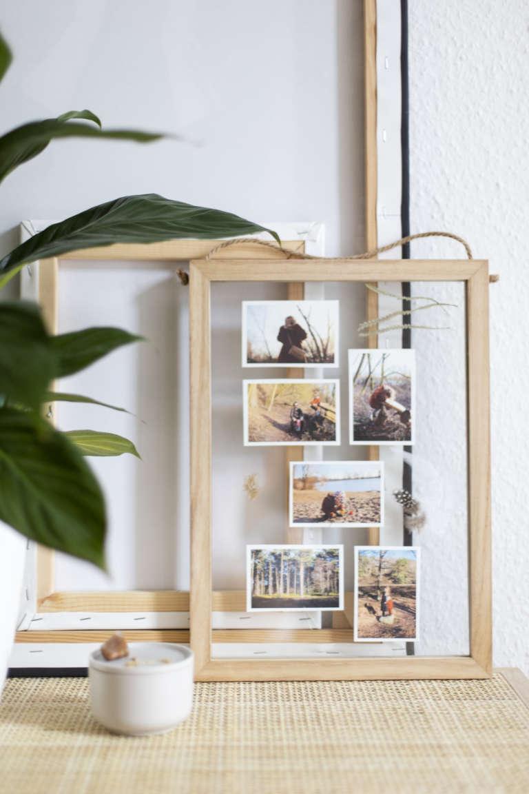 Diy Urlaubserinnerungen Ideen Deko Schwebender Rahmen Paulsvera 3