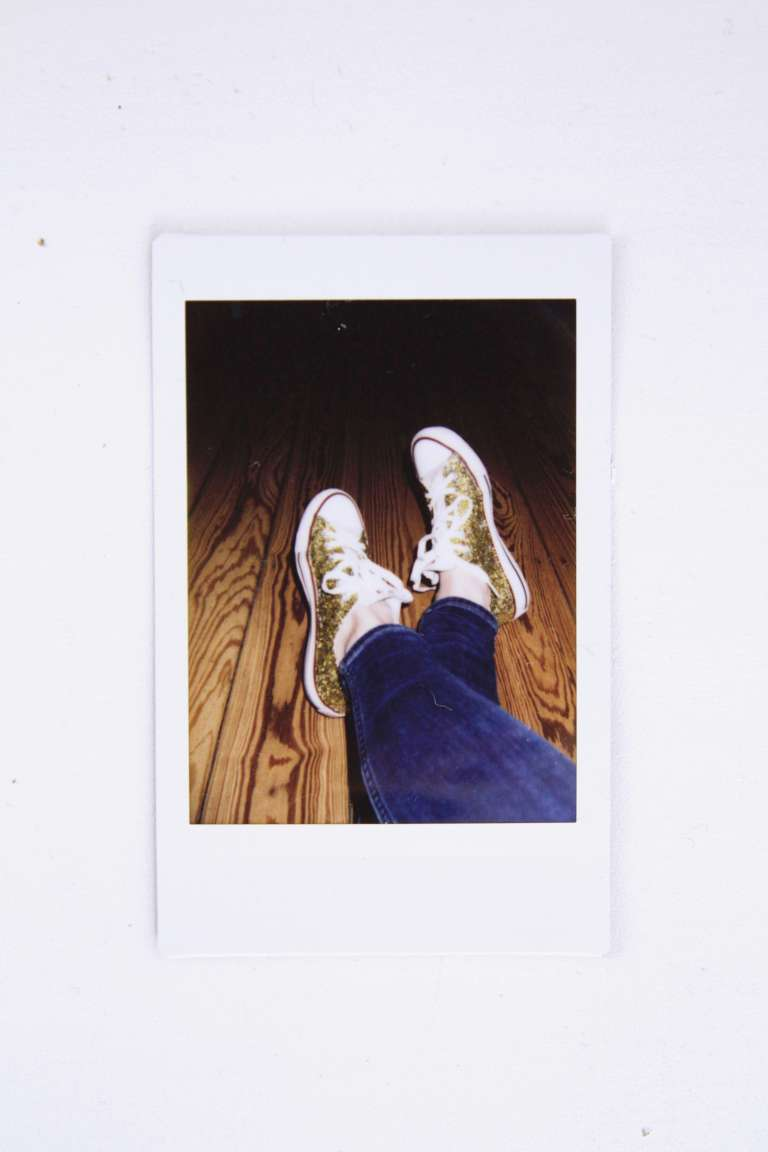 Diy Glitzer Sneaker Selber Machen Upcycling Paulsvera 2