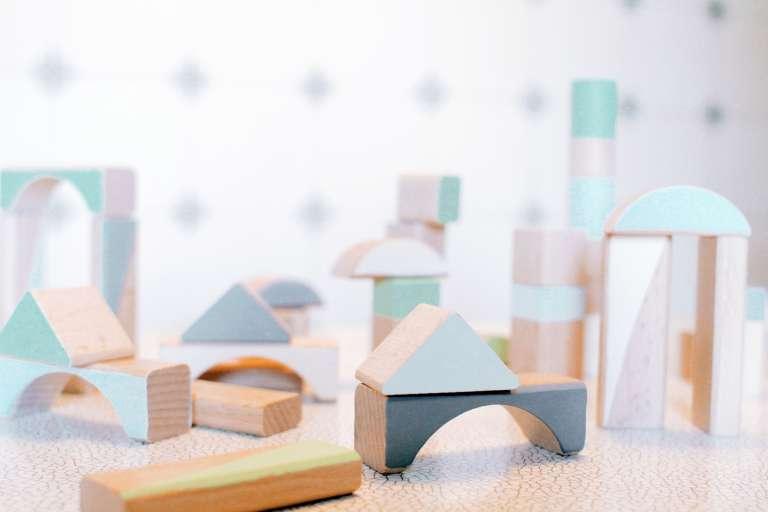 Diy Handbemalte Bauklotze Kinderzimmer Geschenk Paulsvera