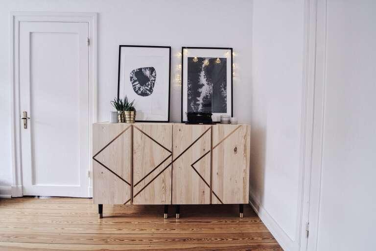 Diy hochzeit g stebuch selbst gestalten und binden paulsvera - Ikea mobel pimpen ...