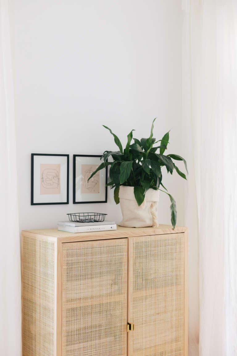 DIY IKEA Hack Blumentopf aus Teppich Sortso Boho DIY Deko Idee paulsvera 7
