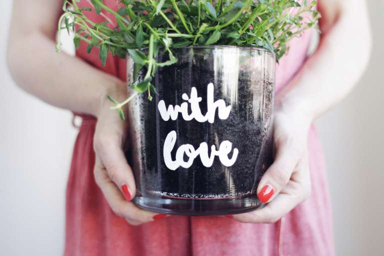 Easy Peasy Blumengruß Mit Persönlicher Botschaft Geschenkidee 2