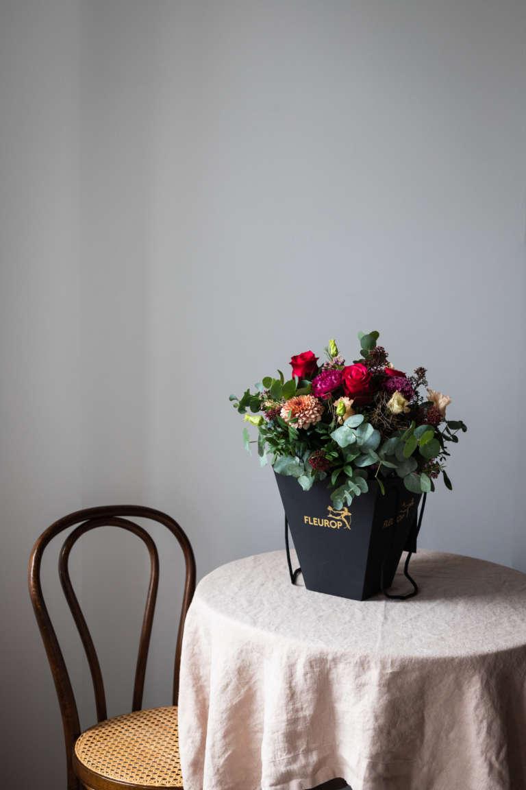 Fleurop Flower bag blumen schicken florist regional umzug geschenk karte ausdrucken kostenlos freebie studiovea 1