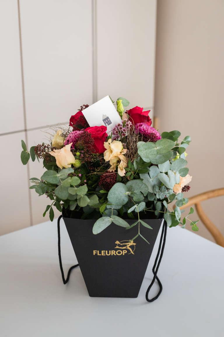 Fleurop Flower bag blumen schicken florist regional umzug geschenk karte ausdrucken kostenlos freebie studiovea 10
