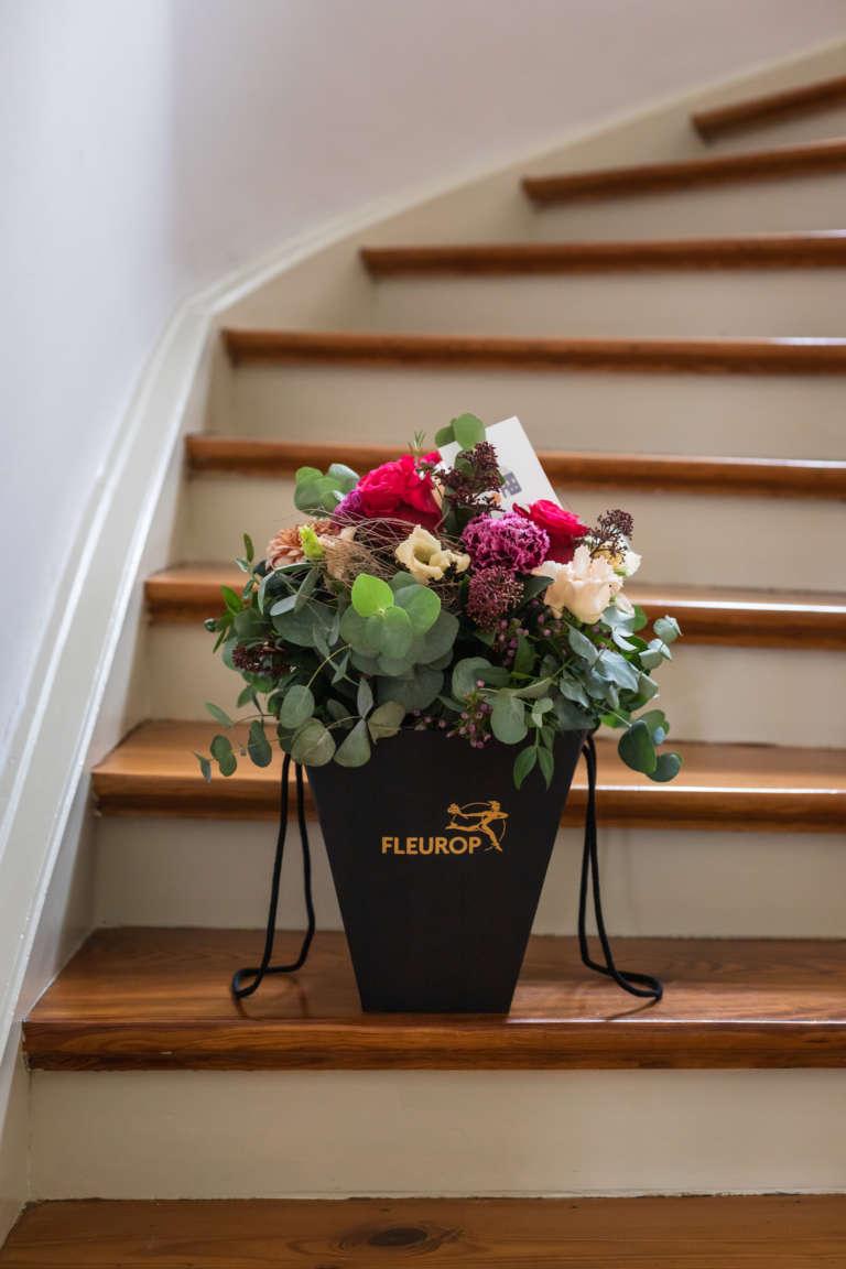 Fleurop Flower bag blumen schicken florist regional umzug geschenk karte ausdrucken kostenlos freebie studiovea 15