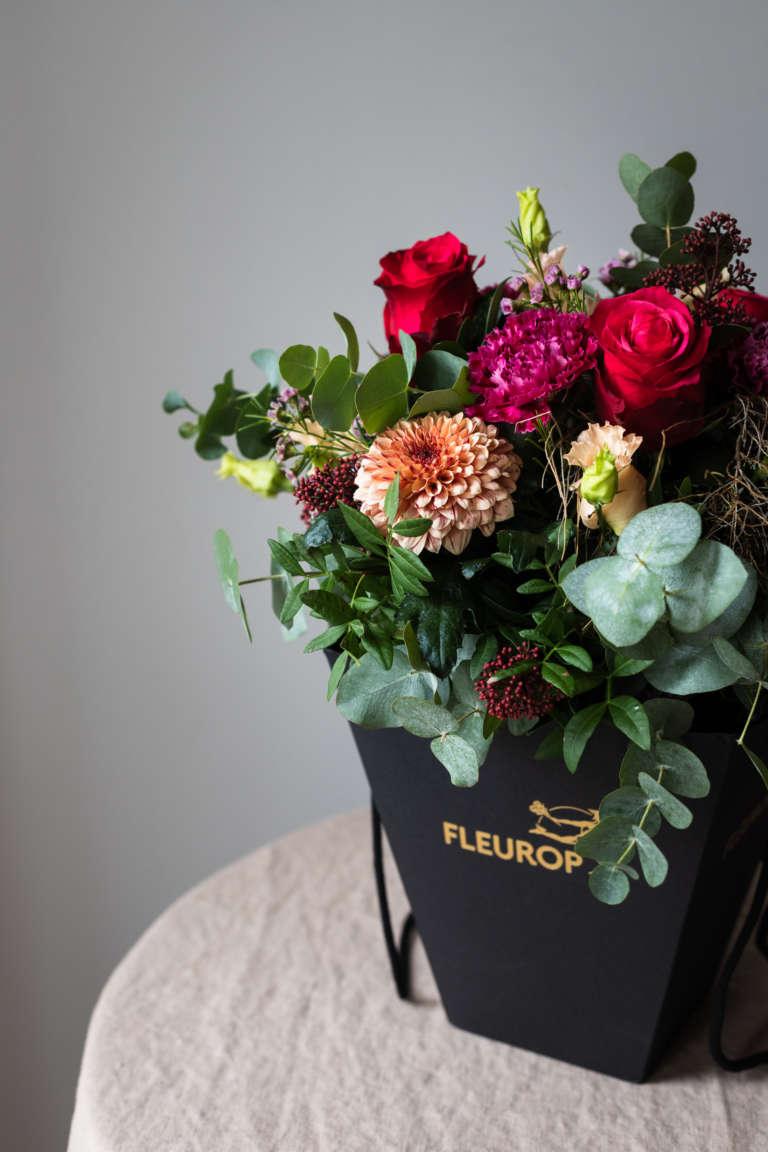 Fleurop Flower bag blumen schicken florist regional umzug geschenk karte ausdrucken kostenlos freebie studiovea 5
