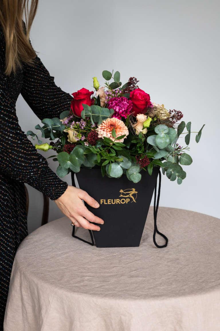 Fleurop Flower bag blumen schicken florist regional umzug geschenk karte ausdrucken kostenlos freebie studiovea 8