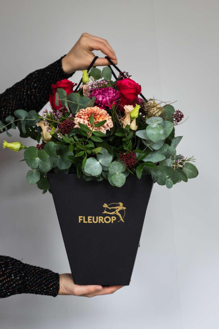 Fleurop Flower bag blumen schicken florist regional umzug geschenk karte ausdrucken kostenlos freebie studiovea 9