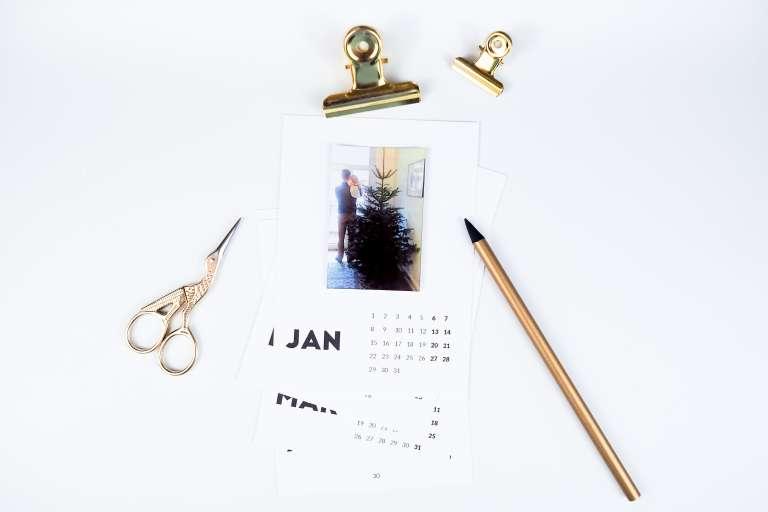 Fotokalender 2018 Kostenlose Druckvorlage 2