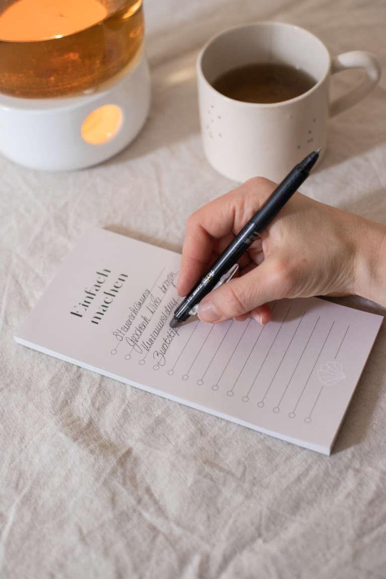 Fri Xion Cllicker Pen Morgenroutine To Do strukturieren Aufgaben studiovea 31