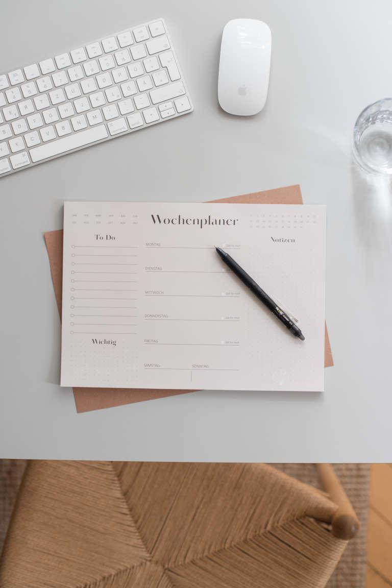 Fri Xion Cllicker Pen Morgenroutine Wochenplan strukturieren Aufgaben studiovea 1