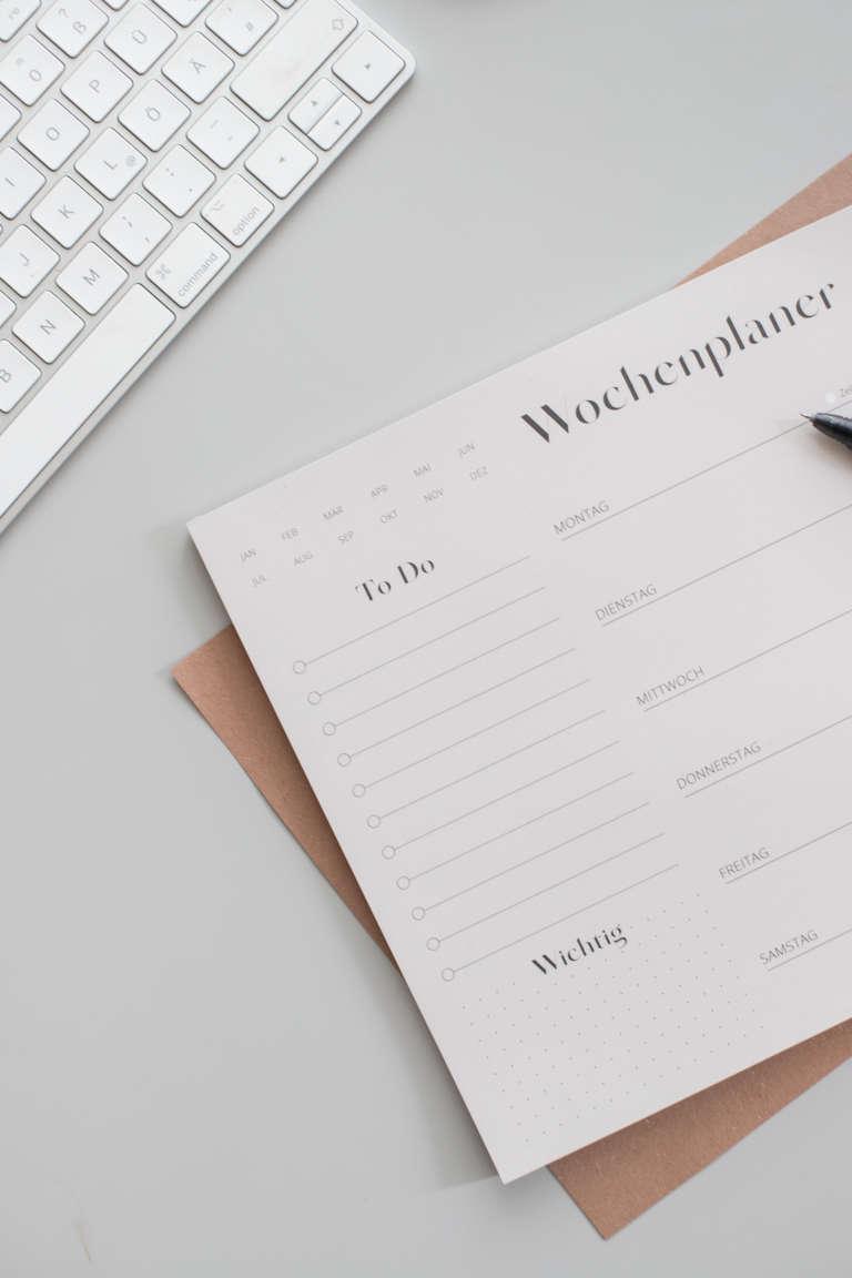 Fri Xion Cllicker Pen Morgenroutine Wochenplan strukturieren Aufgaben studiovea 11