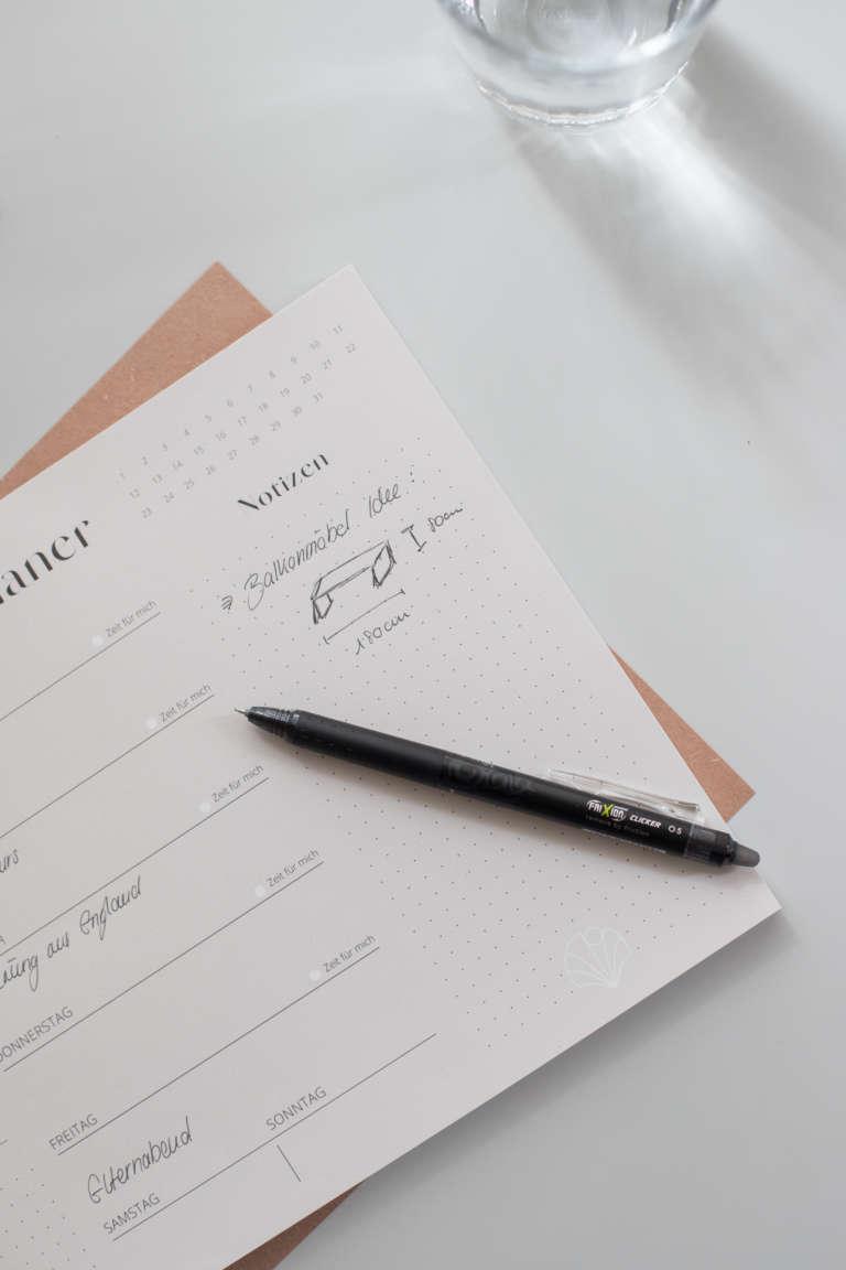 Fri Xion Cllicker Pen Morgenroutine Wochenplan strukturieren Aufgaben studiovea 12