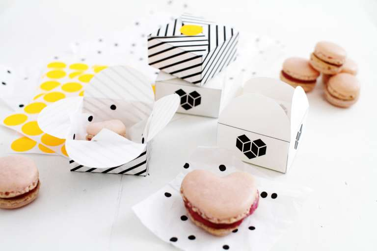 Geschenkverpackung Macarons_DIY_selber machen_Freebie_paulsver