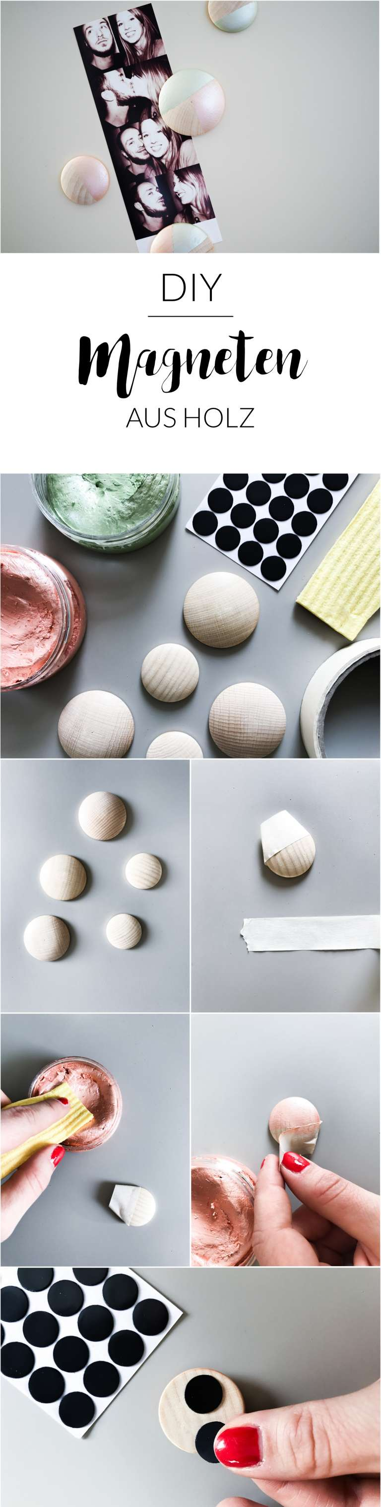 How To Diy Magneten Aus Holz Selber Machen Paulsvera