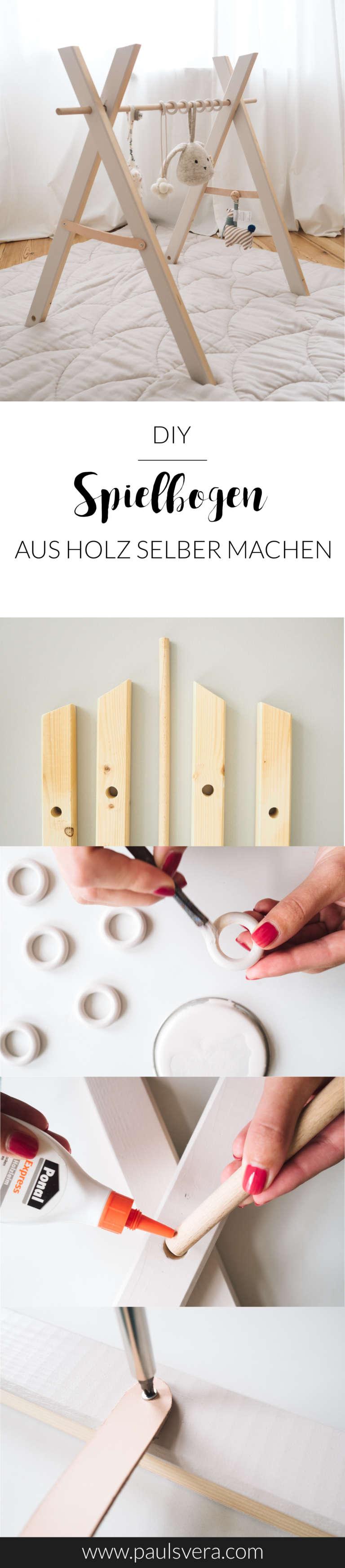 How To Diy Spielbogen Aus Holz Selber Machen Kyddo Paulsvera
