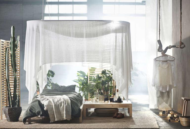 IKEA_HJÄRTELIG_Kollektion-2018-Betthimmel-paulsvera