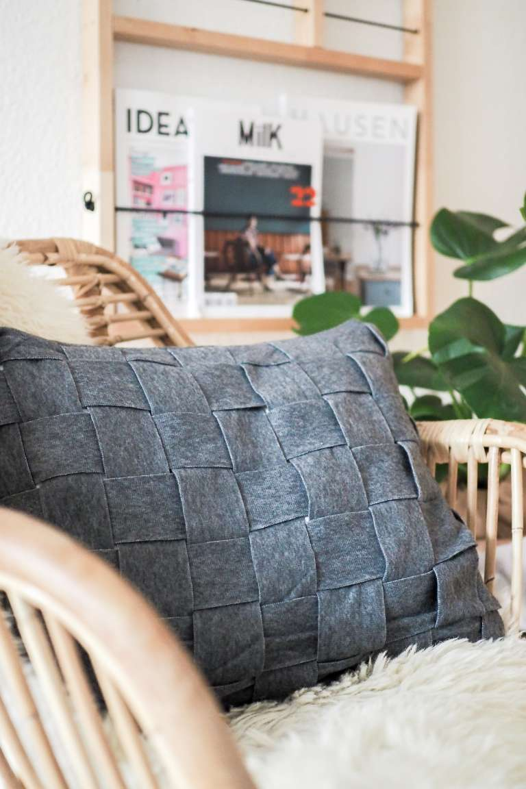 Ikea Hack Diy Kissen Selber Machen Aus Fleecedecke
