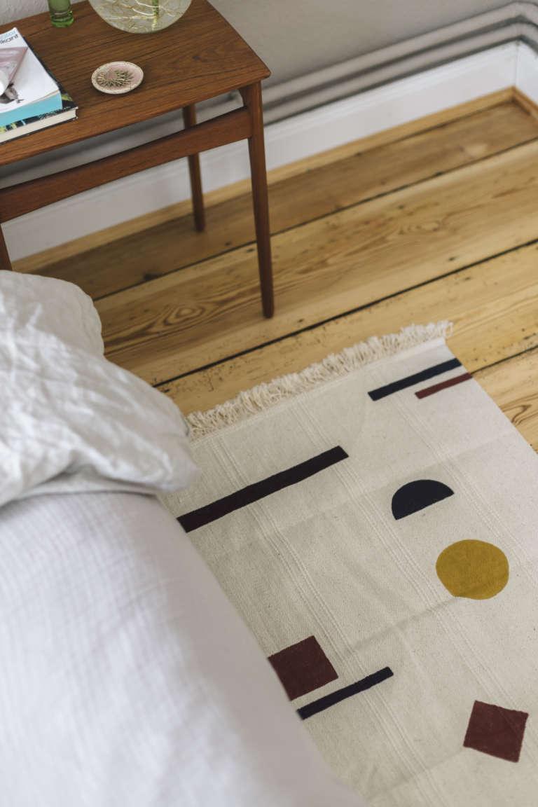 Ikea Hack Bemalter Teppich Diy Selbermachen Paulsvera 1