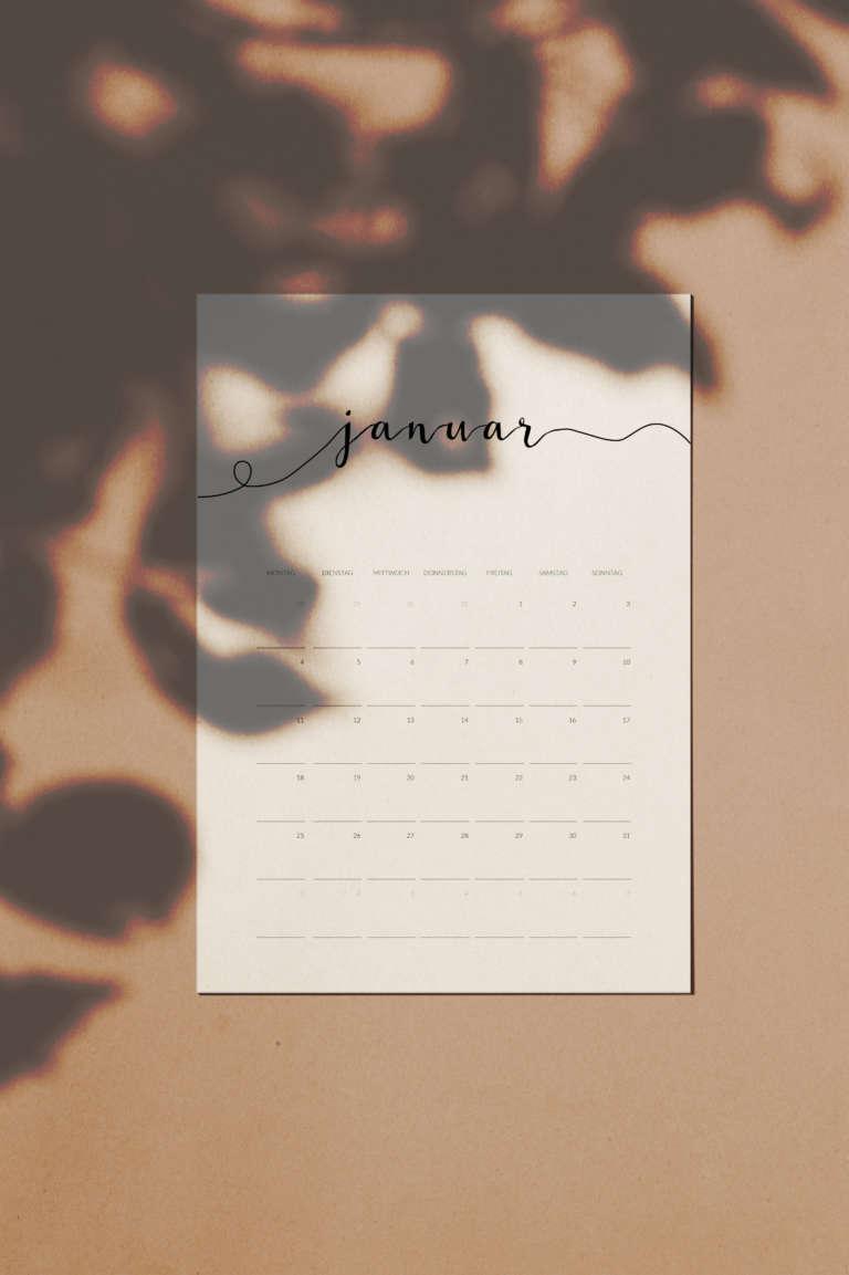 Kalender 2021 free printable druckvorlage kostenlos studiovea paulsvera 3