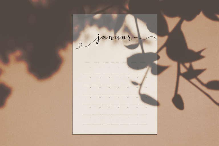 Kalender 2021 free printable druckvorlage kostenlos studiovea paulsvera