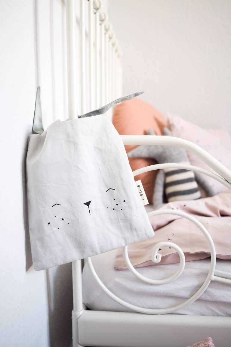 Säckchen für's Kinderbett für Krims Krams für die Nacht