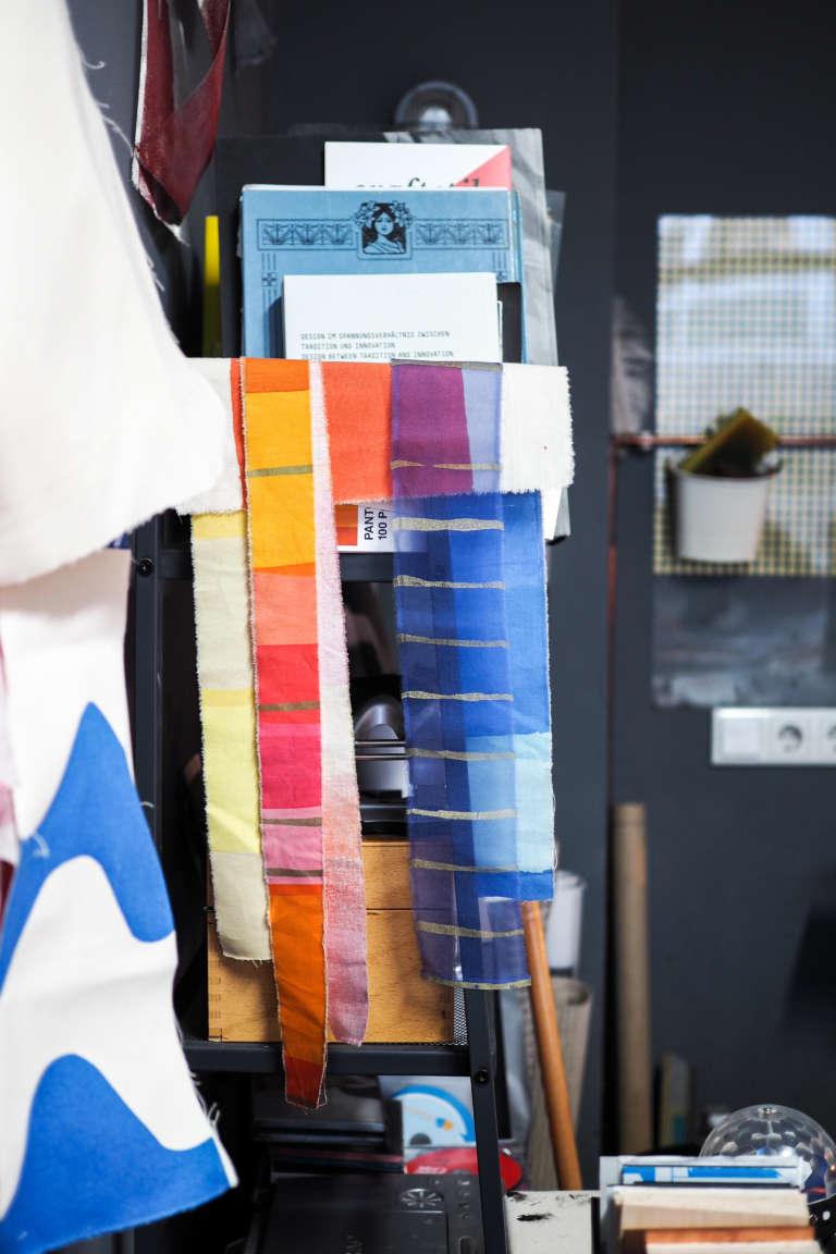 Makers Textildesignerin Susanne Kuehn Interview Hamburg Paulsvera 19