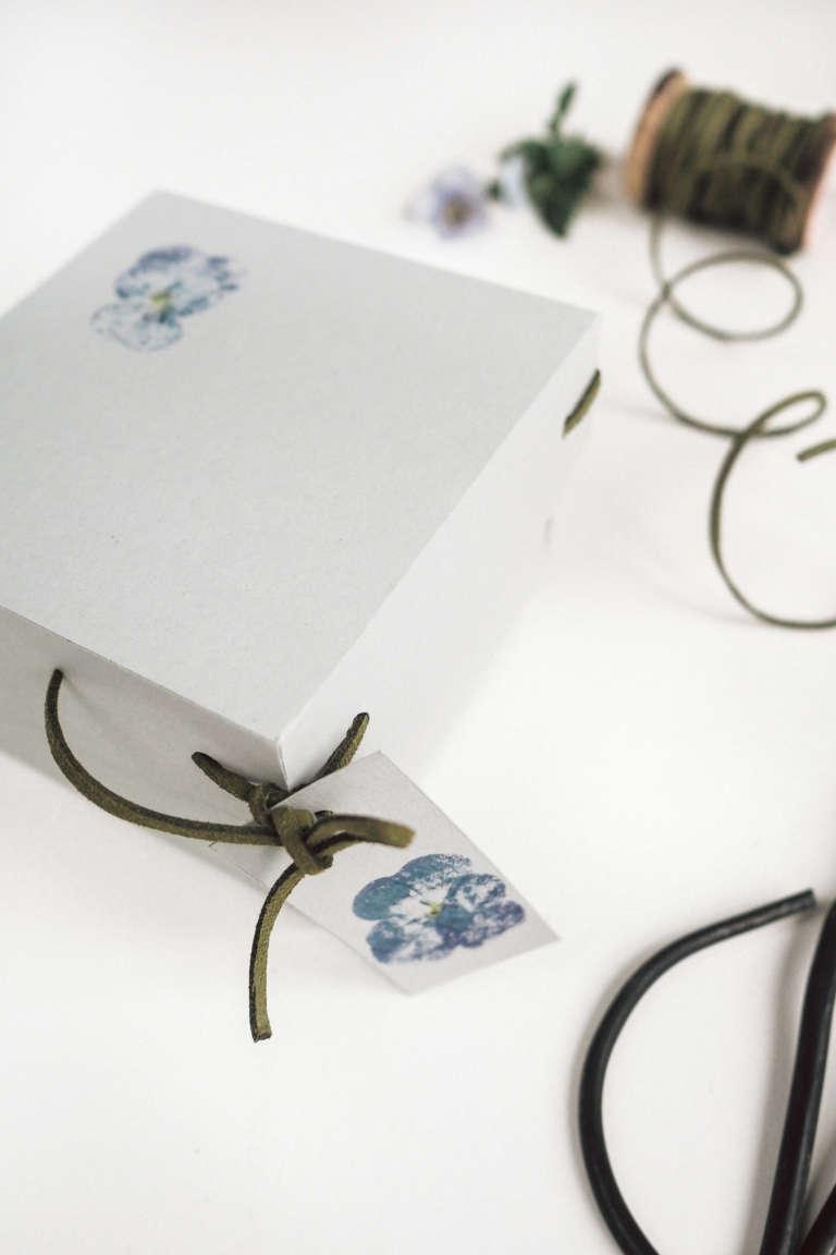 Muttertag Saatscheiben Geschenkverpackung Box Bluendruck Bluten Hammern Selbstgemacht Diy Paulsvera 11