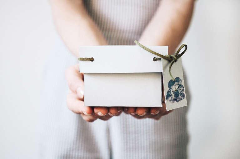 Muttertag Saatscheiben Geschenkverpackung Box Bluendruck Bluten Hammern Selbstgemacht Diy Paulsvera 24