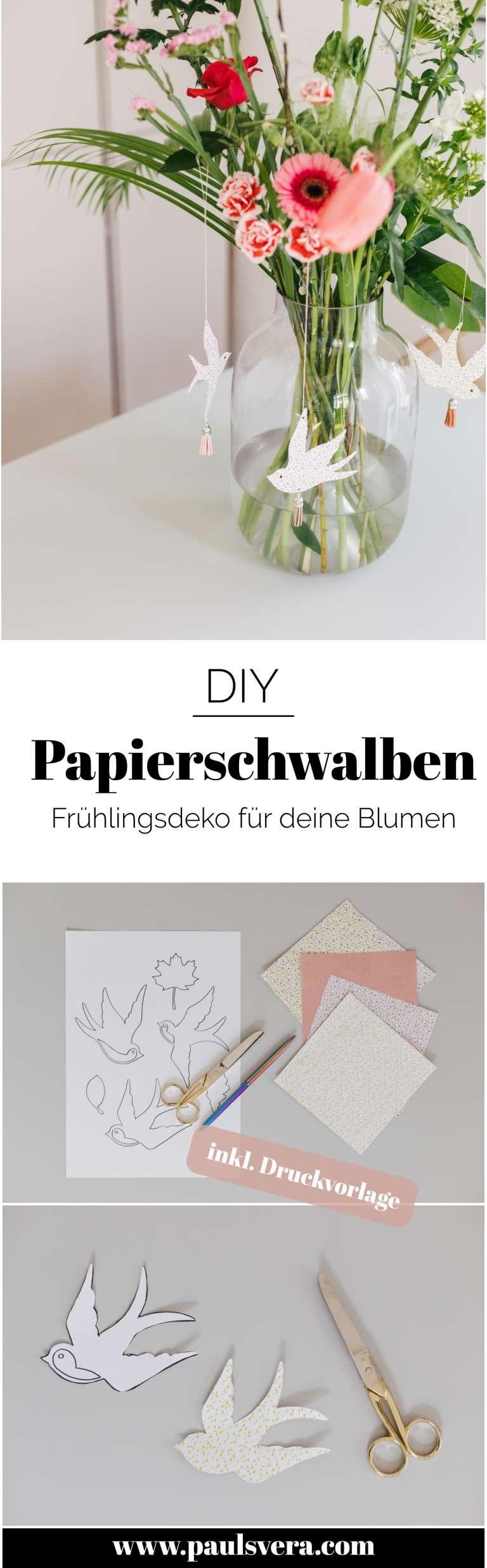 Papierschwalbe Anleitung