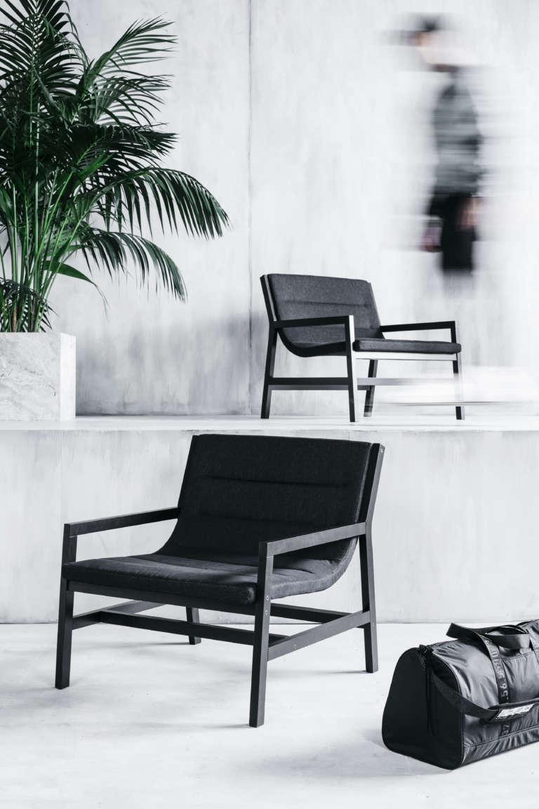 SPÄNST Sessel aus lackierter Buch ca. 199 EUR  © Inter IKEA Systems B.V. 2018