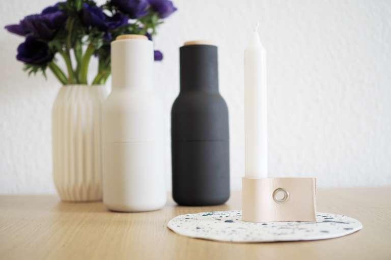 Scandi Look_DIY-Kerzenhalter aus Leder_paulsvera