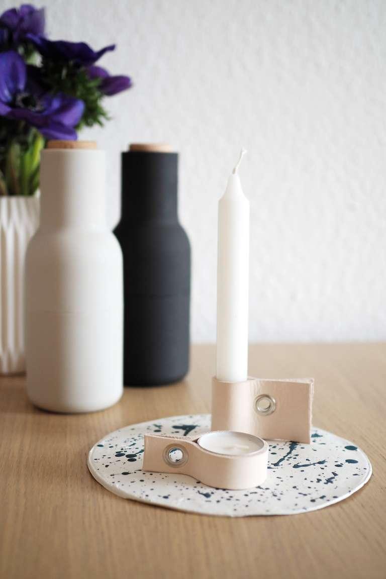 Scandi Look_DIY-Kerzenhalter aus Leder_paulsvera_3