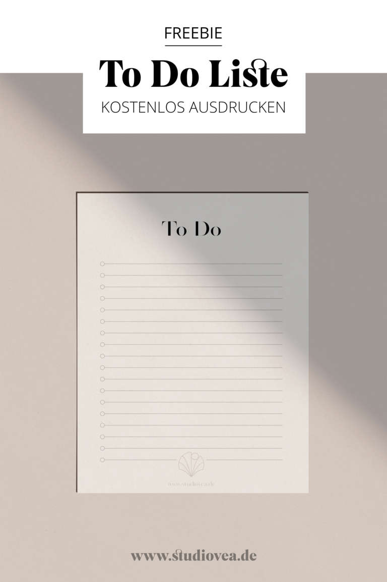 To Do Liste printable kostenlos ausdruckenwhite
